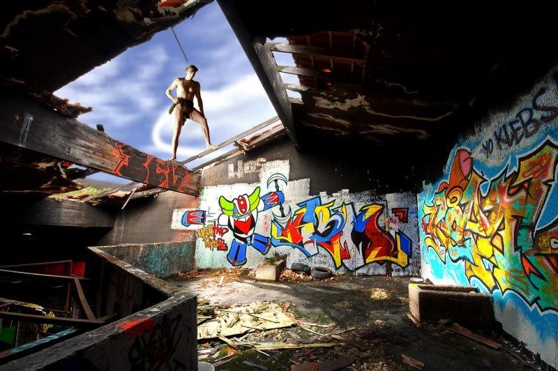 photographie street-art d alain schwarzstein photographe de la galerie22