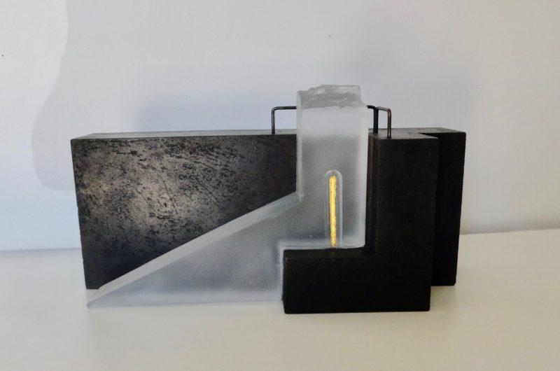 sculpture en verre de Christian von Sydow disponible a la vente dans le store de la galerie22