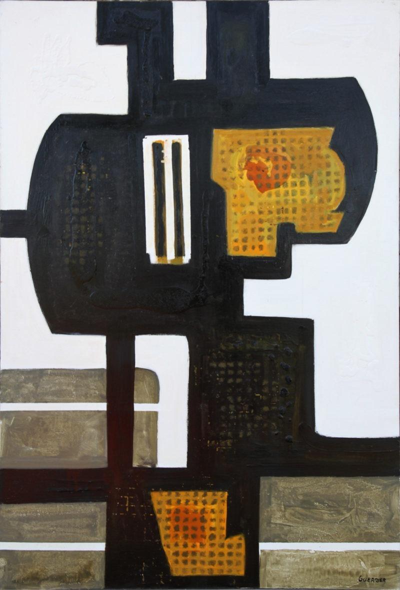 peinture moderne à l huile sur toile de raymond guerrier artiste peintre de la galerie22