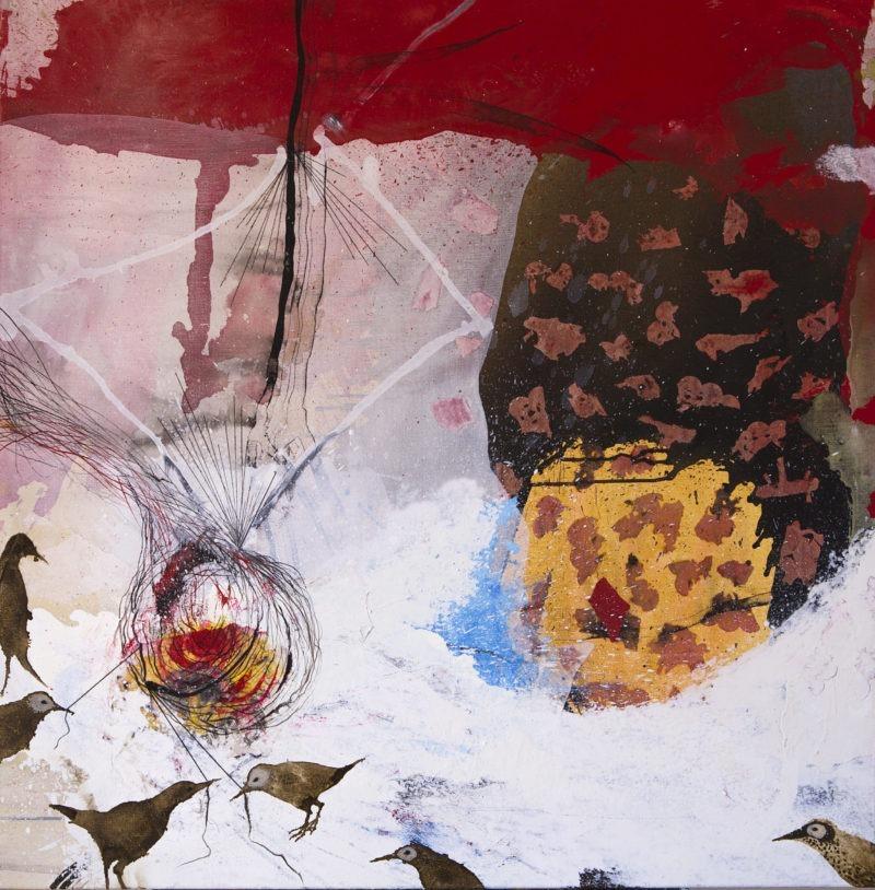 peinture abstraite d'Enrique Mestre-Jaime en vente dans le store de la galerie22