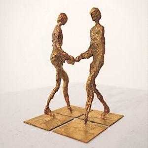 candelier sculpture vend son oeuvre relais