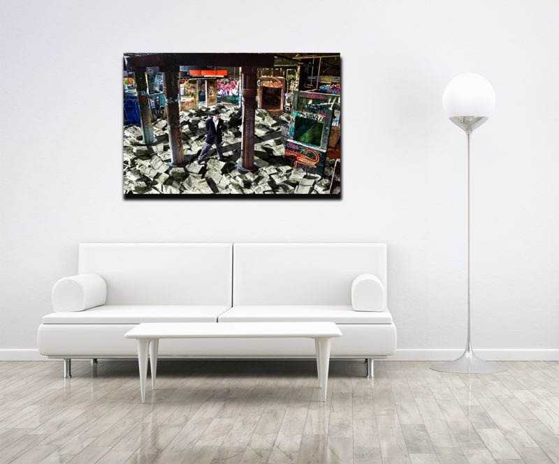 street art photography available in the store of the gallery 22