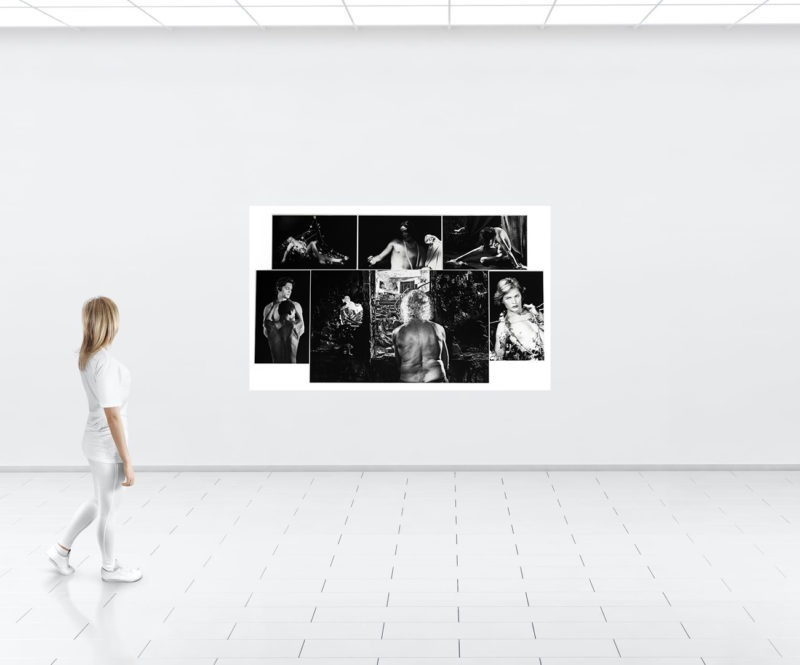 montage of black and white photos by alain schwarzstein available in the gallery's store22