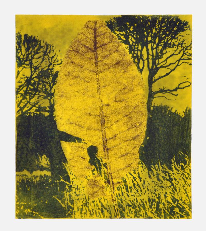 peinture acrylique de Jean-Luc Guin'Amant art contemporain couleur jaune boutique galerie22