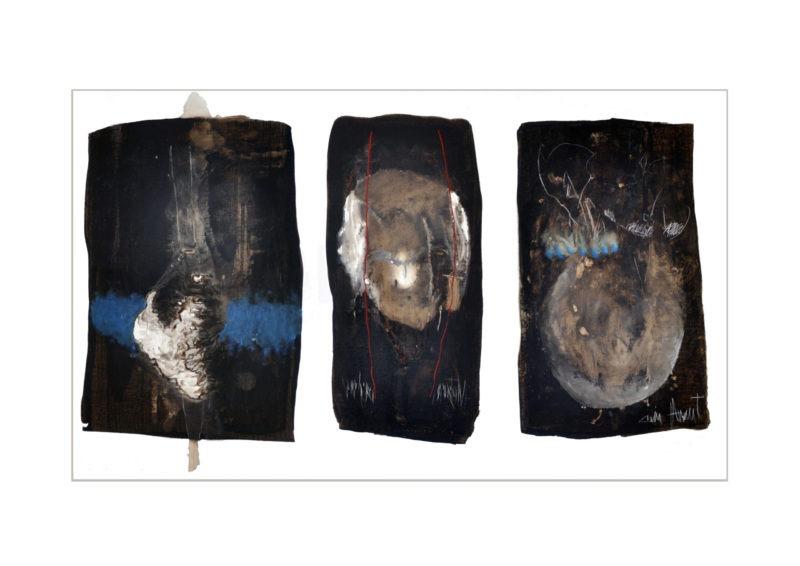 peinture a l huile abstraite contemporain de Jean-Luc Guin'Amant vente boutique galerie22