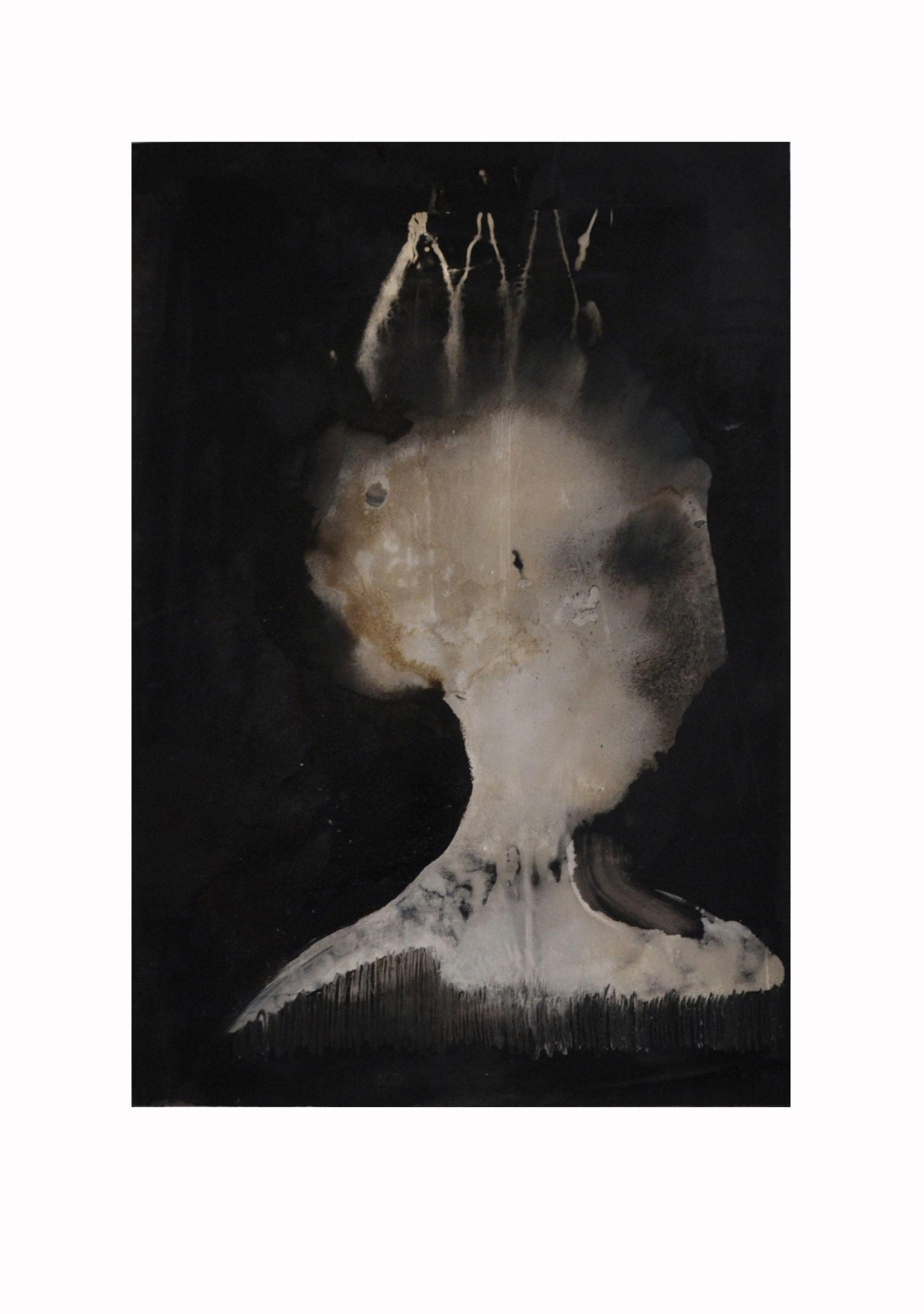 papier contemporain peinture de Jean-Luc Guin'Amant
