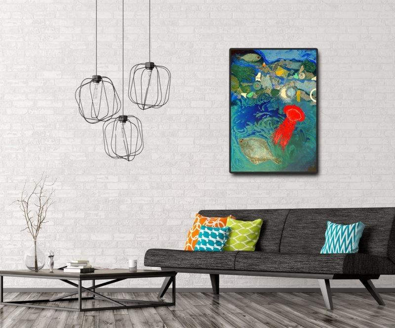 peinture acrylique d enrique mestre jaime disponible dans le store de la galerie22