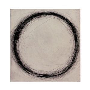 work on paper with drypoint engraving by Valentin Capony on sale in the store of the Galerie22