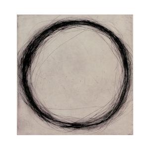 oeuvre sur papier à la pointe sèche gravure de Valentin Capony en vente dans le store de la Galerie22