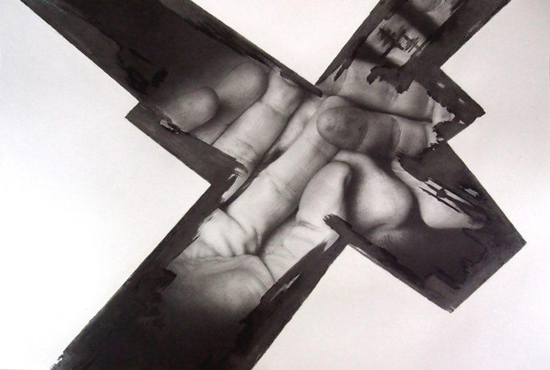 dessin contemporain aux crayons de papier de Christophe Moreau en vente dans le store de la Galerie22