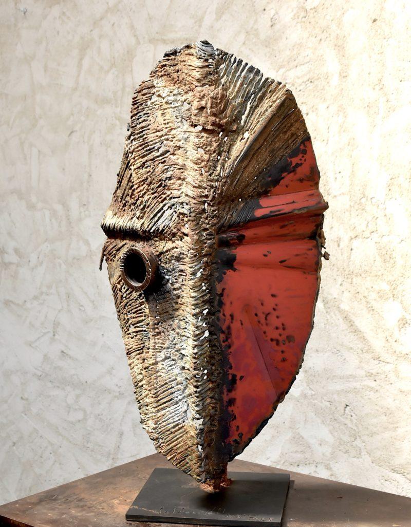 sculpture en métal et bronze de Julien Allègre en vente dans la boutique de la galerie 22 contemporain