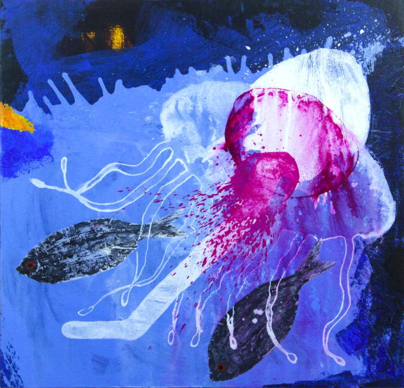 acrylic on canvas by Enrique Mestre Jaime