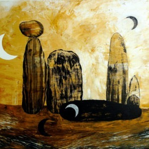 peinture acrylique sur toile d'Enrique Mestre-Jaime à acheter dans la boutique en ligne de la Galerie 22 contemporain