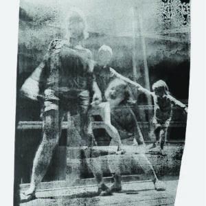 oeuvre sur papier technique de dessin et encre de chine de Thomas de Vuillefroy en vente dans la boutique en ligne de la Galerie 22