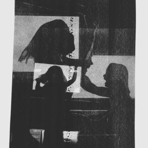 racloir à l'encre de chine sur papier de Thomas de Vuillefroy en vente dans le store de la galerie 22