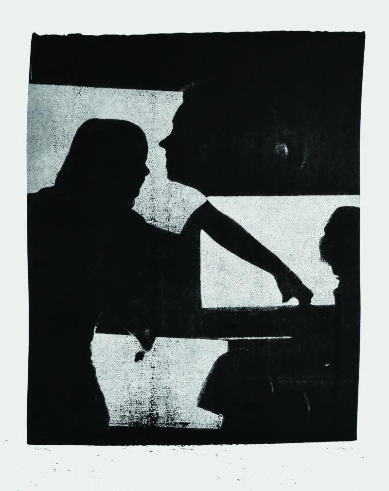 encre de chine sur papier grand format de Thomas de Vuillefroy en vente dans la boutique en ligne de la galerie 22