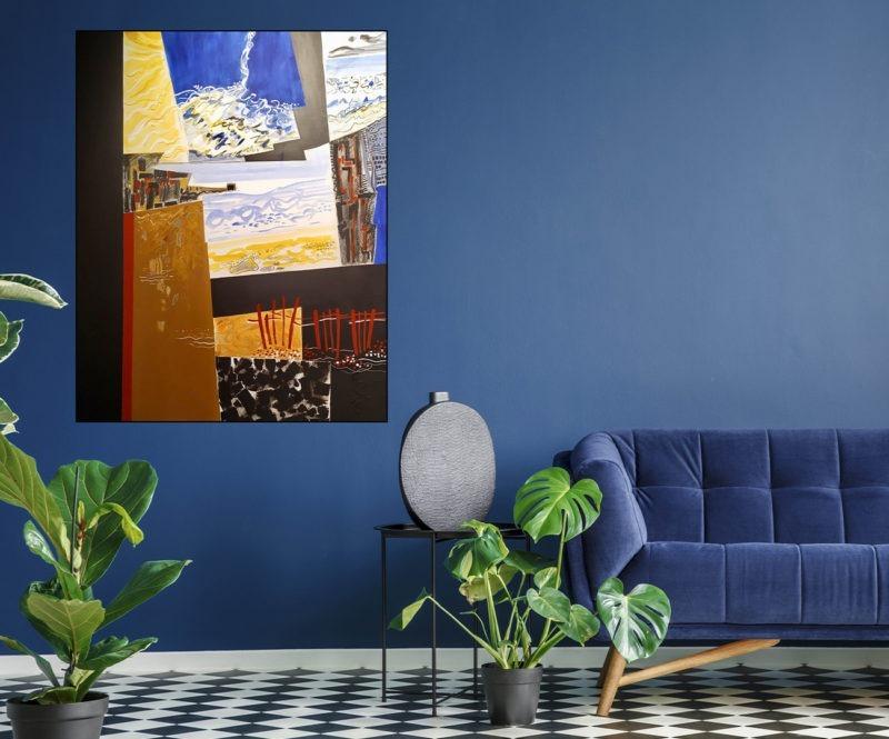 acrylique sur toile de Danielle Prijikorski art contemporain art moderne en vente dans la boutique de la galerie22