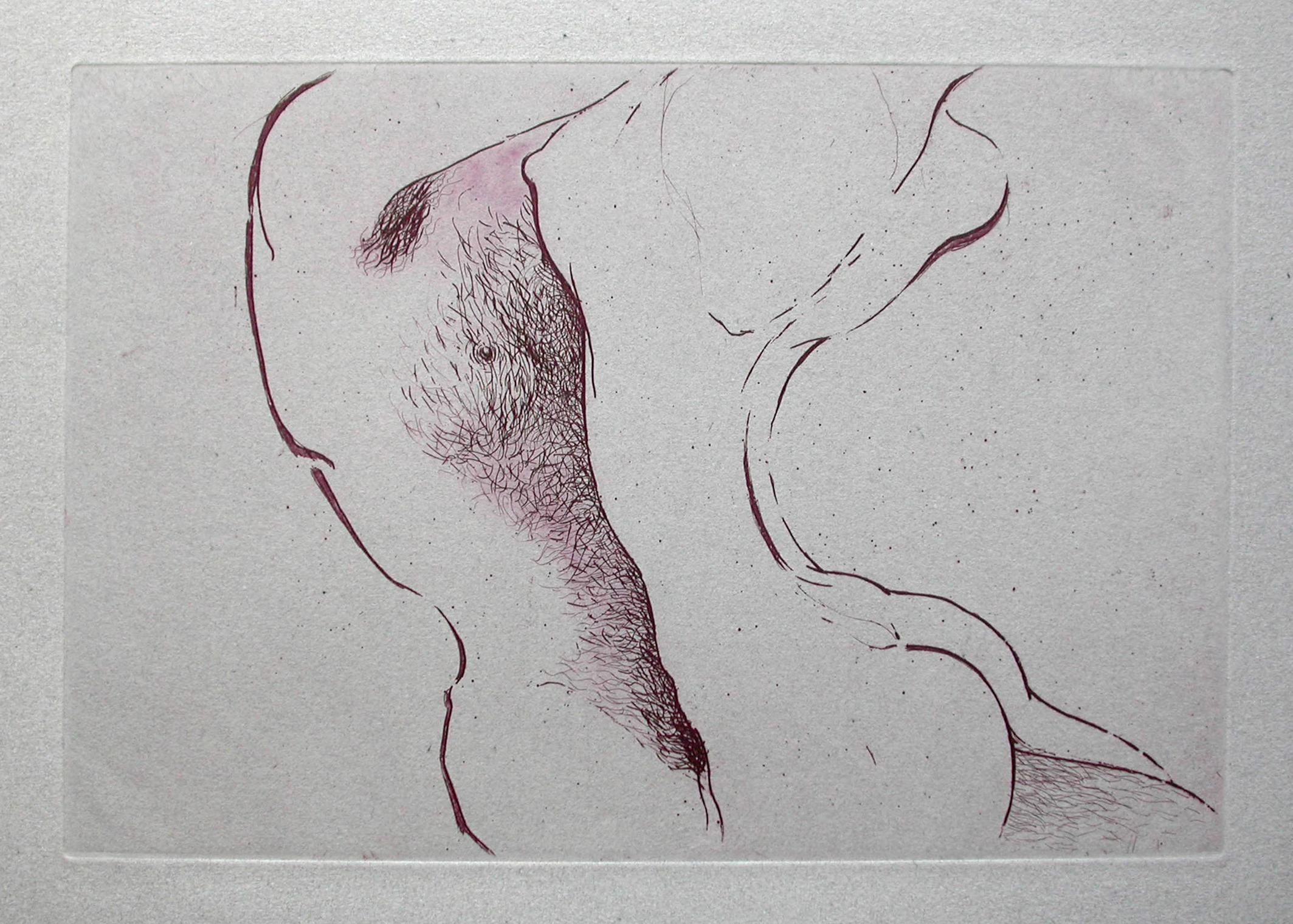 gravure sur papier à l'eau-forte de Monique Flosi à acheter sur le store de la galerie 22 contemporain