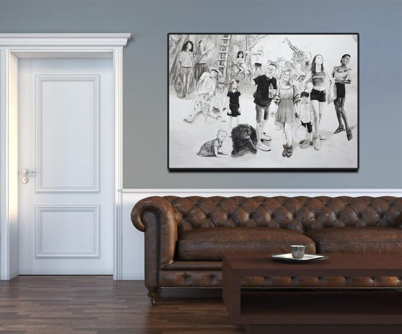 digigraphie de sveta marlier disponible dans le store de la galerie22