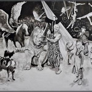 tirage en digigraphie grand format d'oeuvre de Svetà Marlier