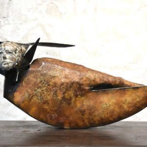 sculpture en bronze de julien allegre artiste sculpteur