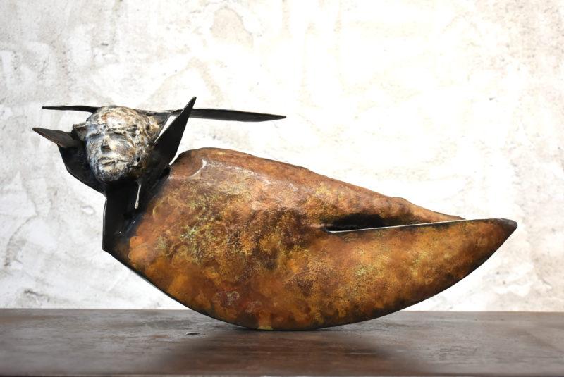 sculpture en bronze de julien allegre artiste sculpteur