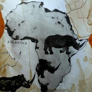 atlantes est une technique mixte sur papier art d'enriquemestre-jaime disponible dans la boutique officielle