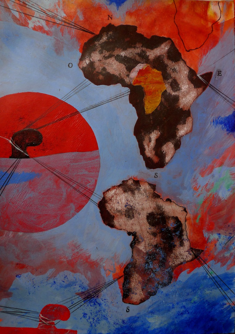 mixed media on paper by enrique mestre jaime available in the gallery 22 online store