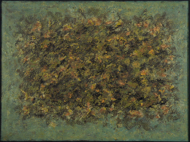 abstract painting , oil on canvas by jean-marie zazzi on sale in the online shop of gallery 22.