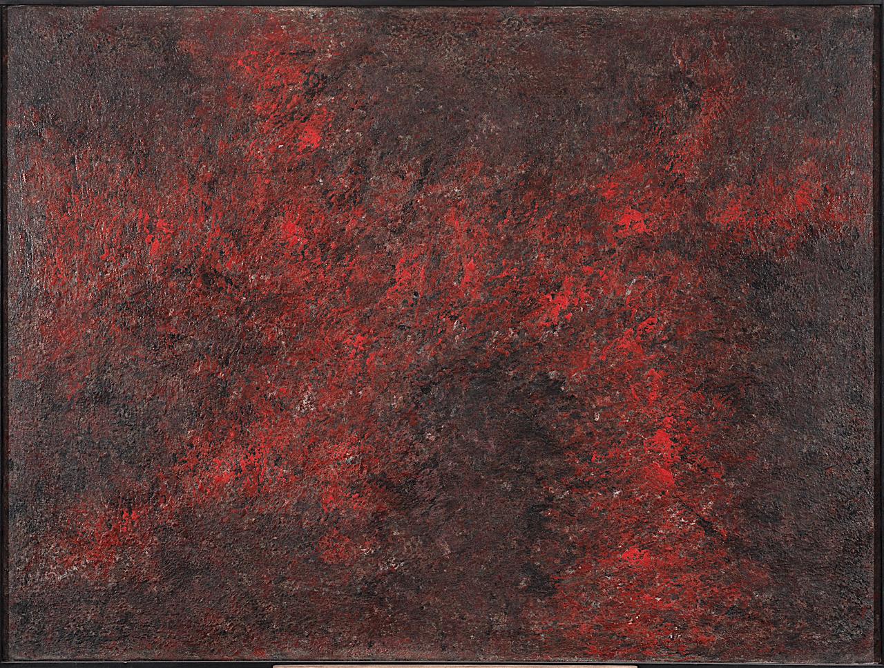 peinture abstraite , huile sur toile de jean-marie zazzi en vente dans la boutique en ligne de la galerie 22.
