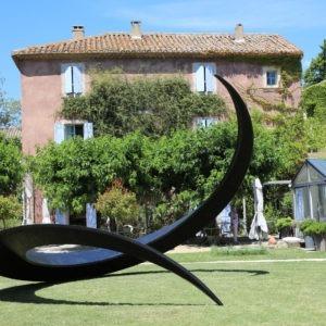 sculpture monumentale pour jardin en metal disponible à la vente dans la boutique en ligne de la galerie 22.