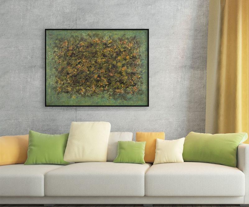 peinture à l'huile sur toile de jean-marie zazzi disponible dans le store de la galerie22