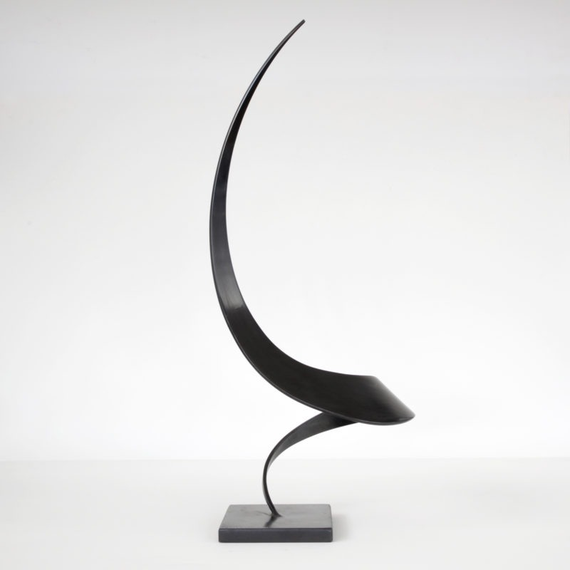 contemporary metal sculpture by francis guerrier available for sale in the official shop of gallery 22