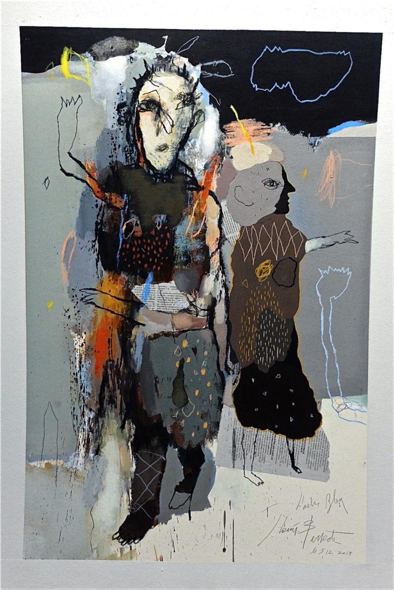dessin contemporain de jean louis bessede artiste peintre et dessinateur de la boutique en ligne de la galerie 22