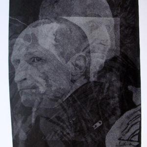 encre de chine sur papier de thomas de vuillefroy en vente dans la boutique en ligne de la galerie 22