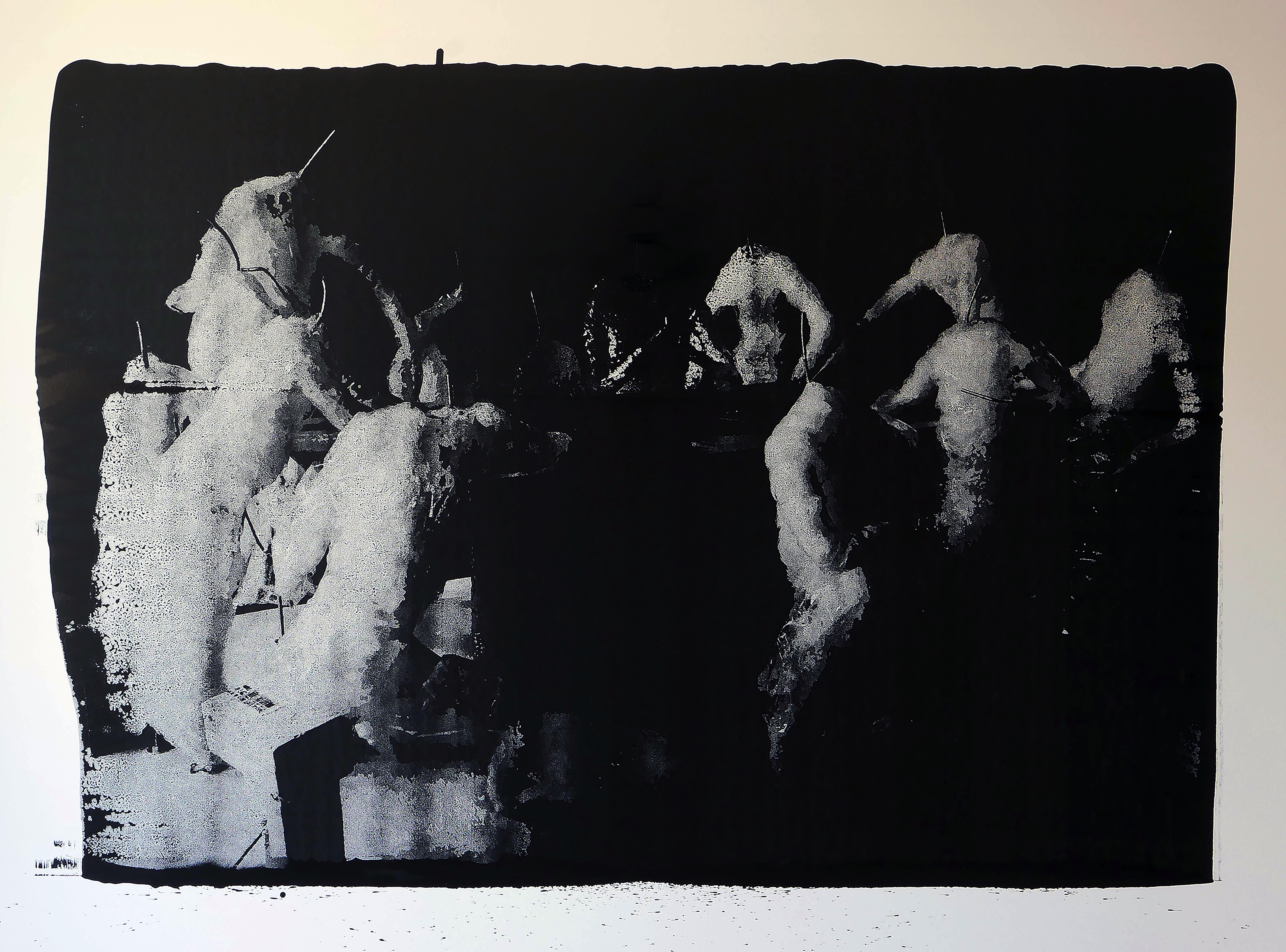 encre de chine sur papier de Thomas de vuillefroy en vente dans la boutique officielle de la galerie 22