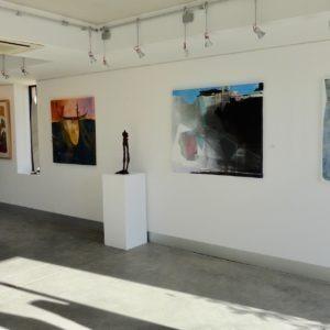 Intérieur de la galerie d'art contemporain en ligne Galerie 22