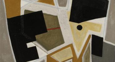 table soleil 1 grise est une huile sur toile de l'artiste peintre francais raymond guerrier disponible dans la galerie en ligne de la galerie 22.