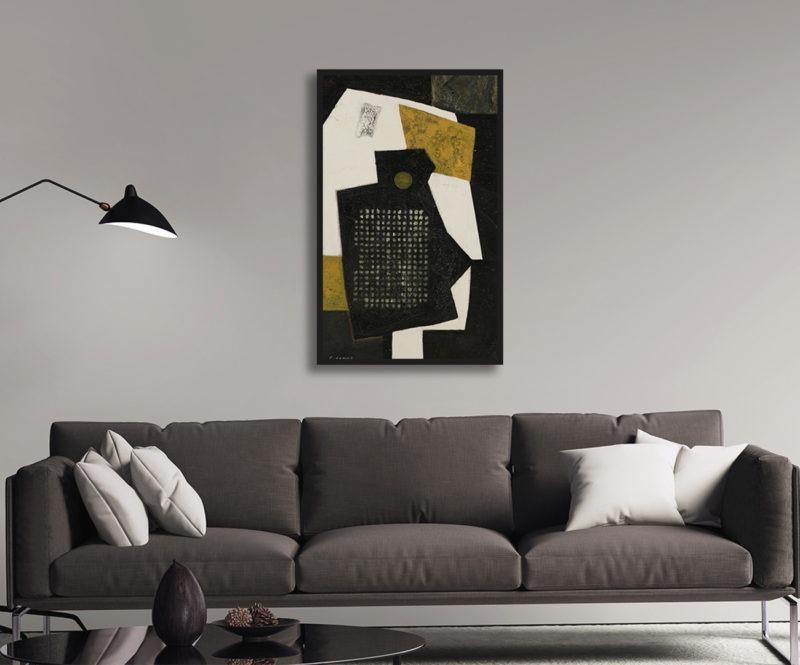 huile sur toile de l'artiste peintre Raymond Guerrier en vente dans la boutique en ligne de la galerie 22