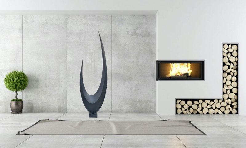 sculpture metal contemporaine