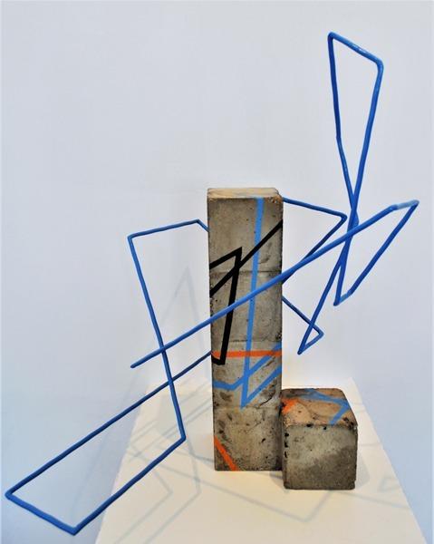 sculpture by Sébastien Zanello