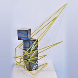 contemporary sculpture by sebastien zanello for sale in the gallery22 store