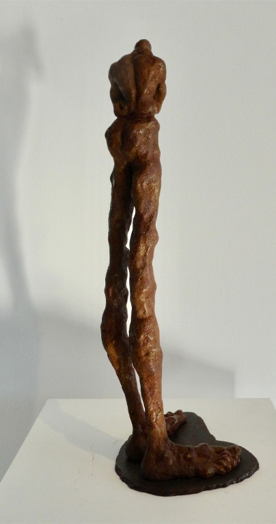 contemporary art bronze by Kenny Adewuyi for sale
