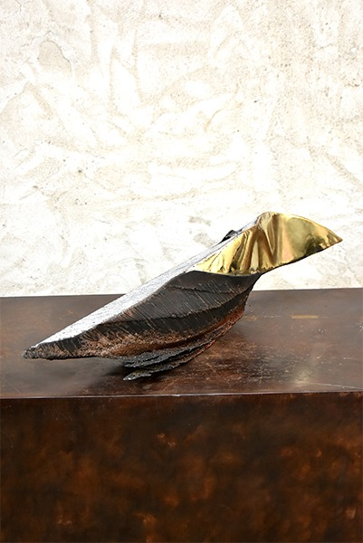 metal sculpture of Julien Allègre for sale in the store of the gallery22