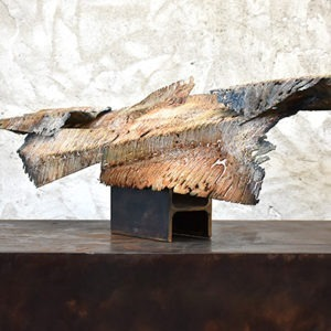 metal sculpture of Julien Allègre to buy in the shop of the gallery 22