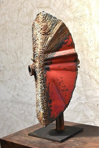 bronze et métal sculpture de Julien Allègre