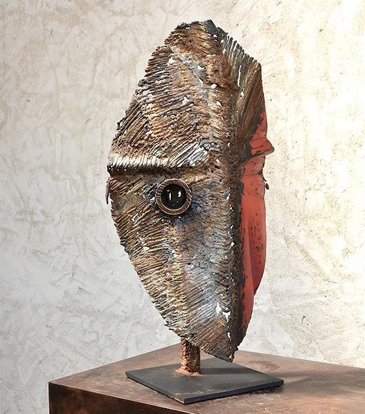 métal et bronze sculpture de Julien Allègre