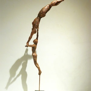 figurative copper sculpture by gilles candelier available in the official gallery shop22