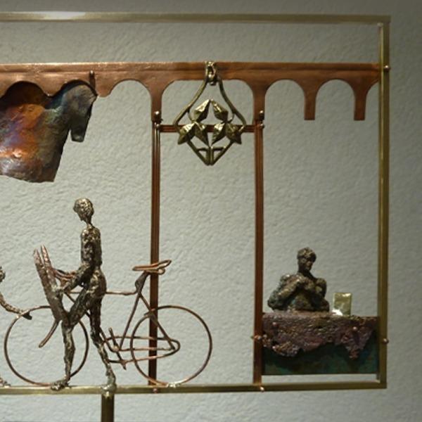 scene sculpture en vente