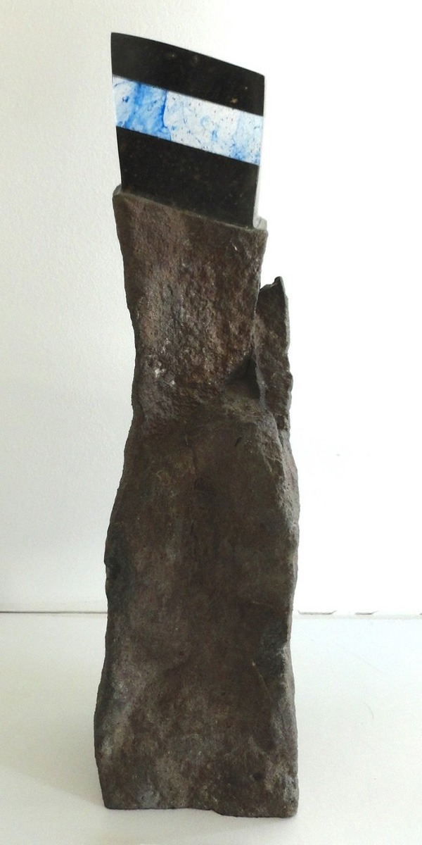 store sculpture glass basalt of Gérard Fournier